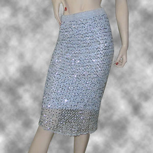 Vintage Sequined Skirt by  Parasuco